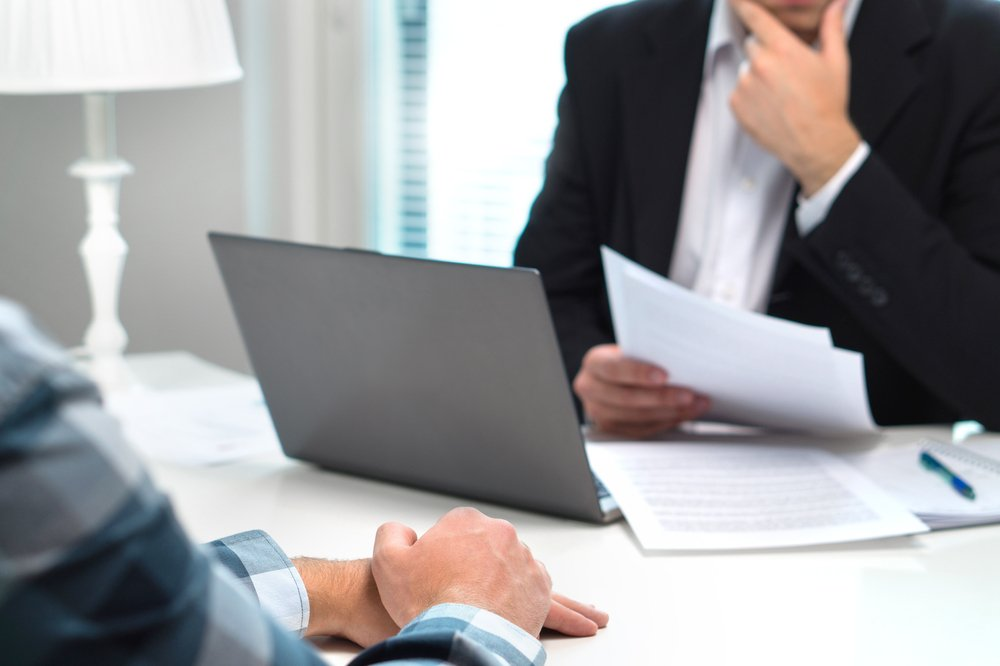 Employee Being Informed of Termination by Employer